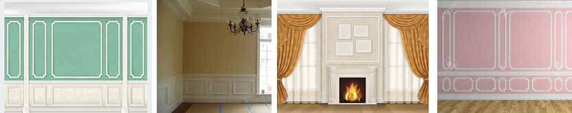 Boiserie in PE Classic Style