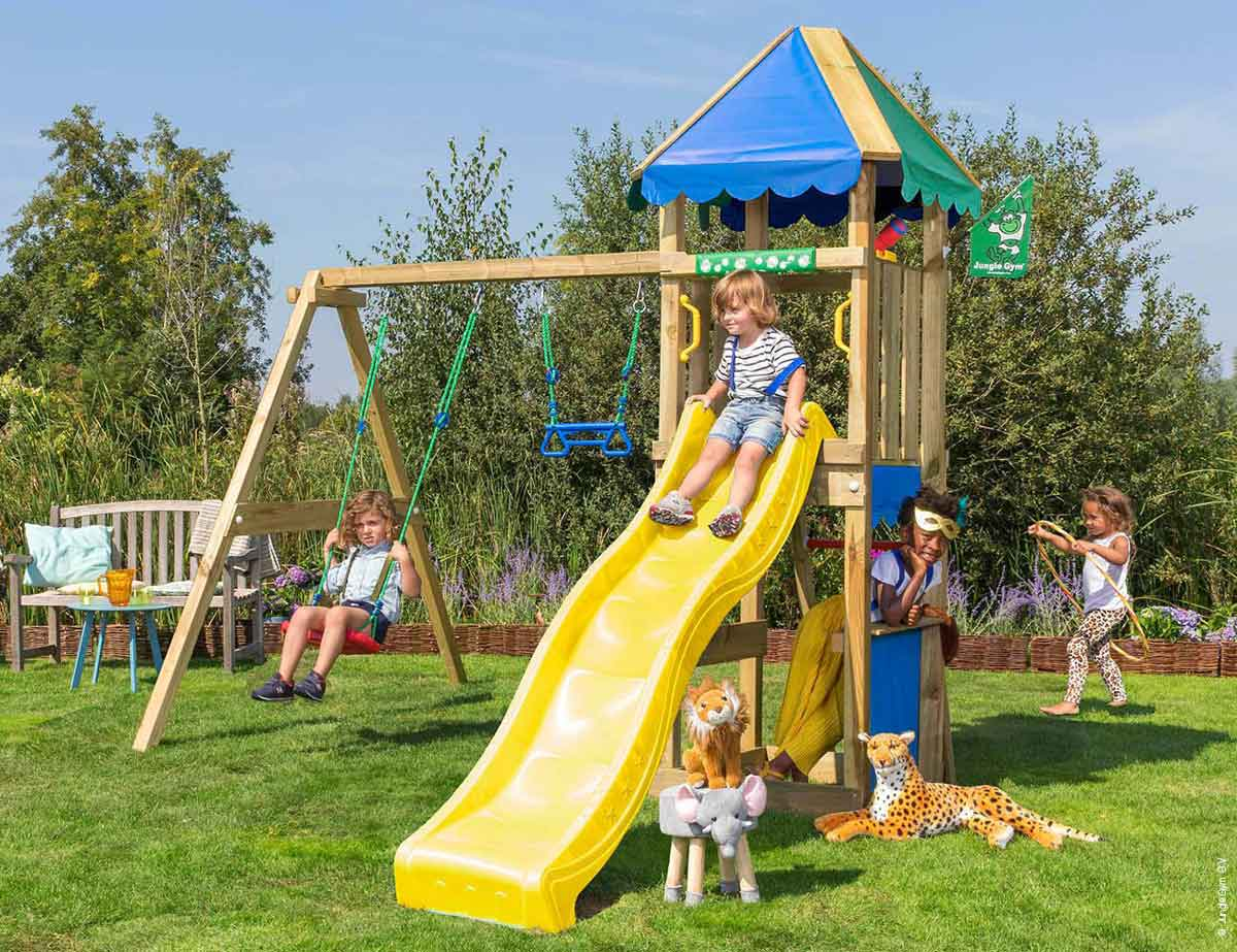Torretta gioco Cirque  swing con scivolo_mybricoshop-jungle-gym_product
