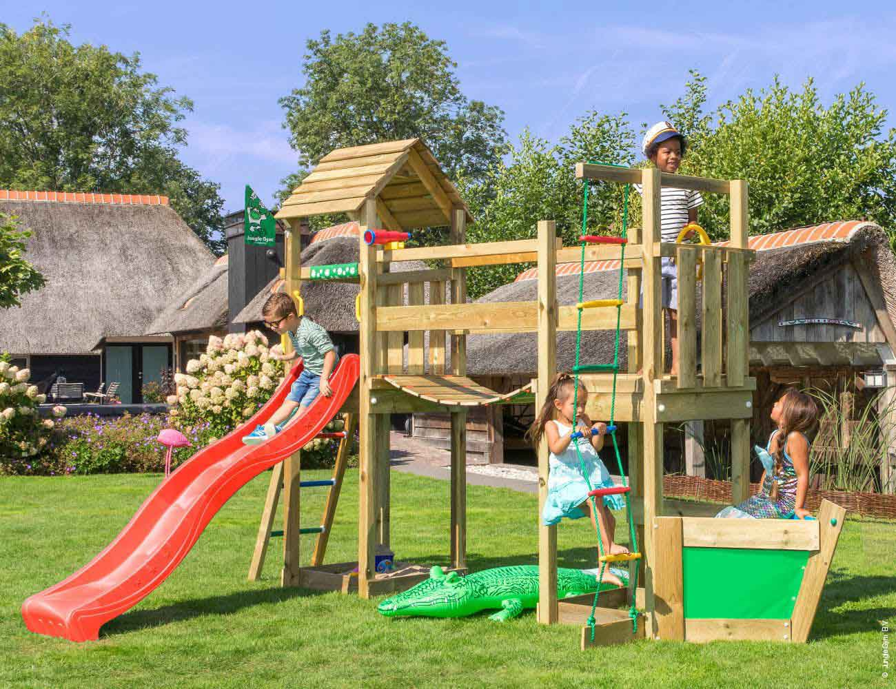 Torretta gioco Voyager  con scivolo_mybricoshop-jungle-gym_product