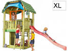 Torretta gioco barn Jungle Gym  con scivolo e  arrampicata uso privato accessori kit gratis