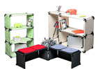 Kit 3 box big playwood in legno colorato in vendita online da Mybricoshop