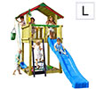 Torretta gioco CHALET Jungle Gym in vendita online da mybricoshop
