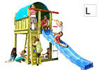 Torretta gioco Villa Jungle Gym n vendita online da Mybricoshop