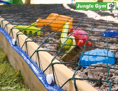 Scaletta in corda con gradini colorati Jungle Gym per parchi gioco mybricoshop