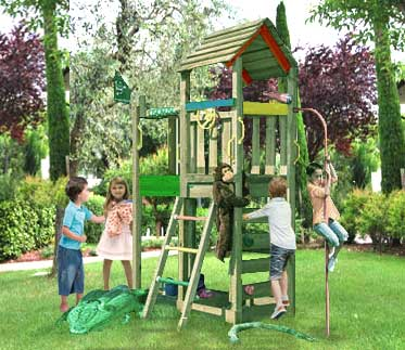 Torretta gioco Safari  con pertica_mybricoshop-jungle-gym-_product