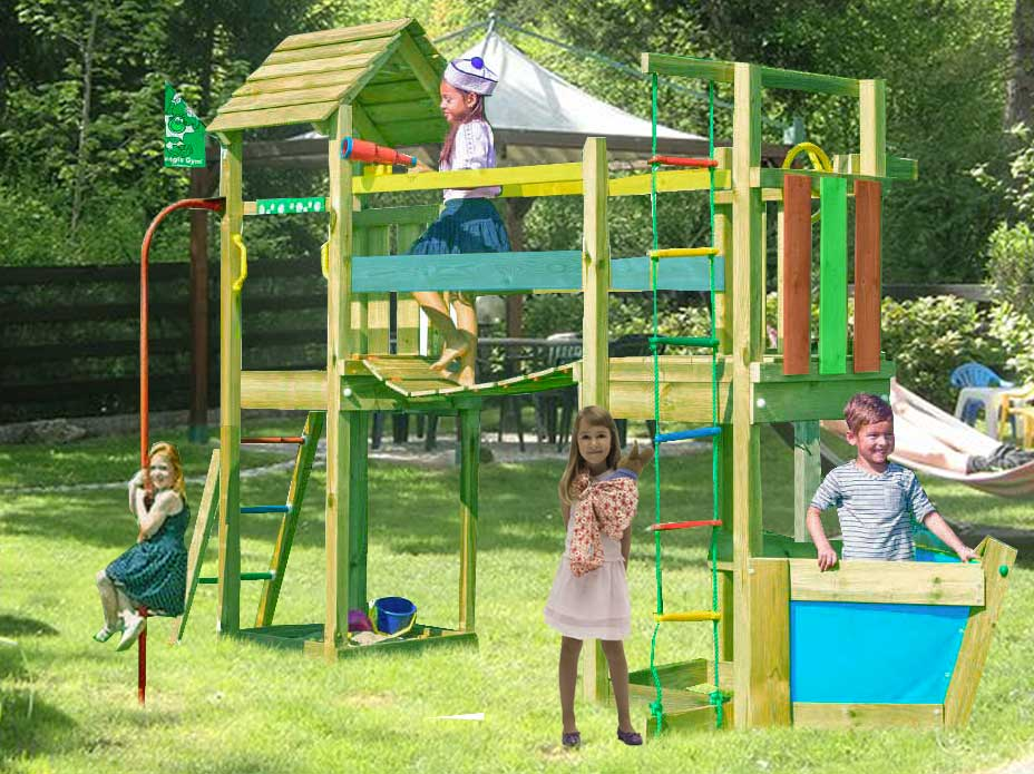 Torretta gioco Voyager  con pertica_mybricoshop-jungle-gym_product_product_product