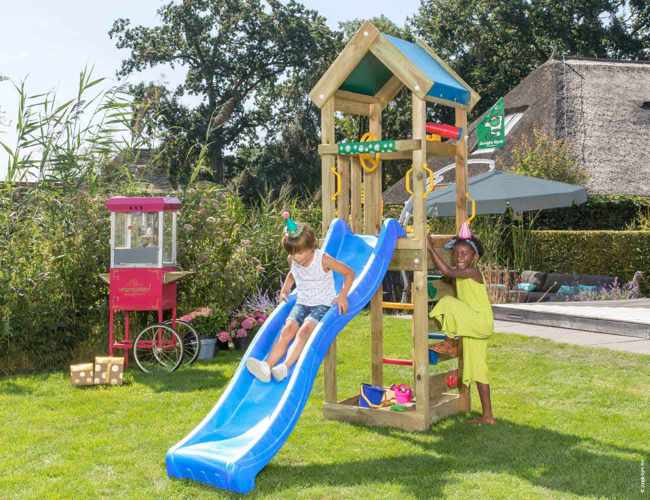 Torretta gioco Patio  con scivolo_mybricoshop-jungle-gym-