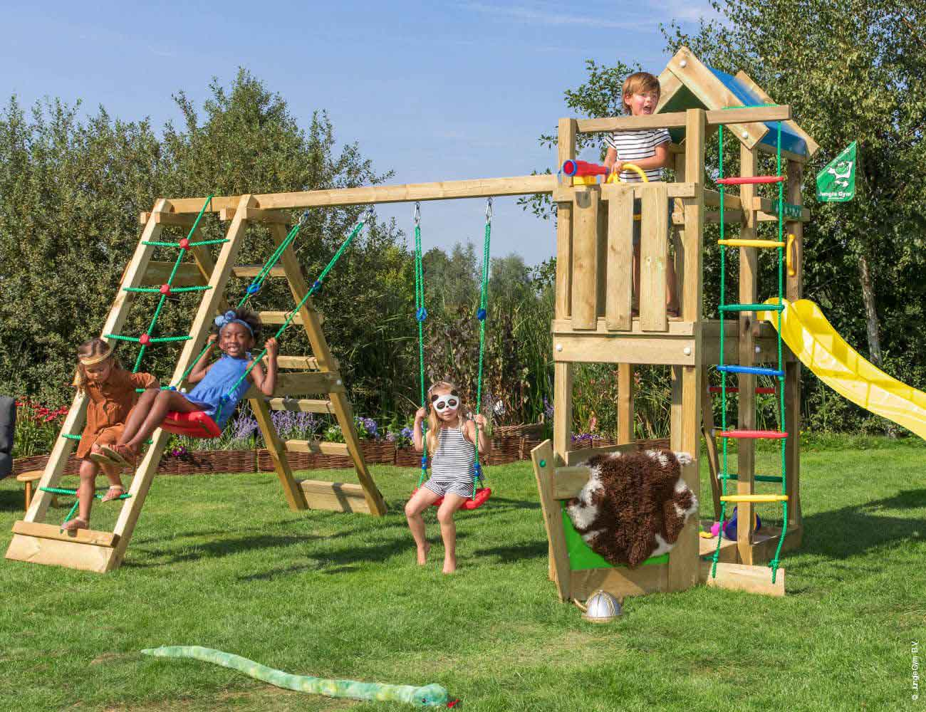 Torretta gioco Viking-altalena-arrampicata_mybricoshop-jungle-gym-