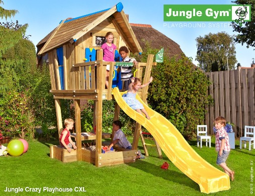 Casetta gioco crazy playhouse cxl_Jungle-Gym-mybricoshop
